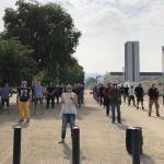 Quarto sabato di protesta per le Mascherine tricolori
