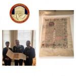 Recuperata a Tokyo una pagina miniata di un antico breviario del 1450