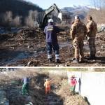 Riprende l'Operazione Luto, interventi della Protezione Civile ANA in collaborazione con la Brigata Alpina Taurinense