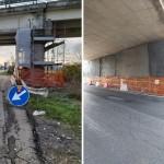 SP 11 Padana Superiore lavori di risanamento sui sovrapassi e sottopassi