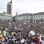 Sabato 12 flash mob a Torino a favore della TAV