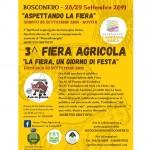 Sabato 28 e domenica 29 la 3^ Fiera Agricola - La Fiera, un giorno di Festa
