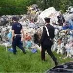 Scarica rifiuti speciali e scappa. Rintracciato e denunciato 1