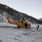 Scialpinista muore sotto una valanga a Pragelato