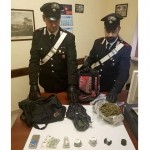 Sequestrate a Cuorgnè 1300 dosi di marijuana