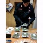 Sequestro di 1,2 kg super marijuana, tre arresti dei carabinieri