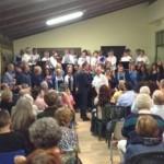 Serata di cori a Vidracco