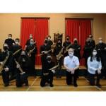 Sette giovani saxofonisti ospiti della Scuola di Musica di Castellamonte