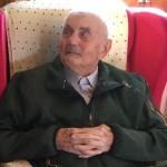 Si è spento l'appuntato Quinto Buffo aveva 104 anni
