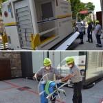 Smontata dalla Protezione Civile la struttura ospedaliera presso le OGR di Torino