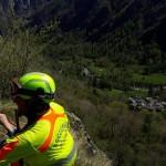 Soccorso un climber in Valle Soana