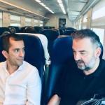 Sopralluogo a sorpresa dell'Assessore Gabusi sulla linea Torino-Milano