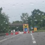Sp 460 riapre una parte del tratto chiuso al traffico a Lombardore