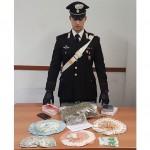 Spacciava droga in casa a studenti e giovani consumatori