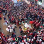 Storico Carnevale di Ivrea collaborazione con Trenitalia