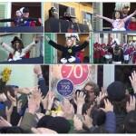 Storico Carnevale di Ivrea i primi cinque Abbà