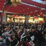 Straordinaria affluenza per lo spettacolo di Natale all'Urban Center