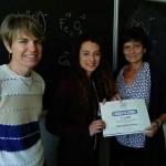 Studentessa del Liceo Gramsci vince una borsa di studio con Wep