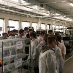 Studenti in visita alle piccole e medie imprese canavesane