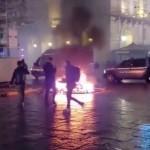 Torino due distinte manifestazioni di piazza una pacifica, l'altra violenta