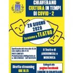 Torna il teatro a Chiaverano dal vivo e su Fb