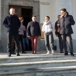 Tronzano-Fava sopralluogo al santuario di Belmonte