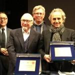Ugo Nespolo premiato con il Nocciolino d'Tola
