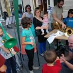 Un fiume di bambini all'Open Day della Scuola di Musica di Castellamonte