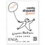 Un francobiollo nel centenario della nascita di Gianni Rodari