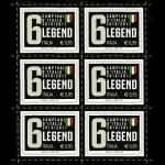 Un francobollo per la squadra vincitrice del Campionato di calcio di Serie A