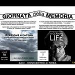 Una memoria da riconquistare due eventi per la Giornata della Memoria