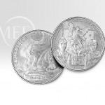 Una moneta d'argento per il 50° anniversario dell'ANPS