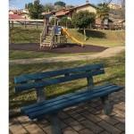 Una panchina blu per l'autismo