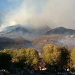 Venti incendi in Piemonte