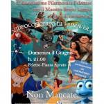 Videoconcerto a Feletto domenica 3 giugno