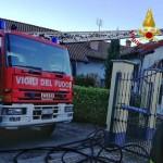 Vigili del Fuoco al lavoro a Cumiana
