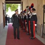 Visita del comandante generale dell'Arma, Giovanni Nistri