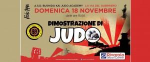 Dimostrazione di Judo al Rivarolo Urban Center