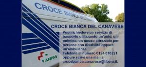 Croce Bianca del Canavese: trasporti sanitari